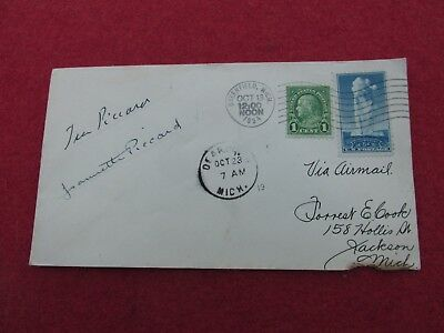 Jeanette Piccard Autograph First woman in Space Balloon