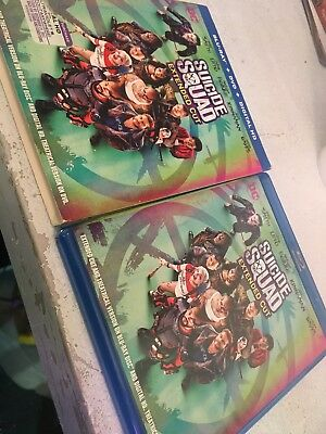 Suicide Squad Extended Cut Blu-Ray with Slip Cover