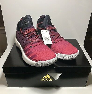d1e1553a0fcb Sale Adidas Harden Vol 2 Volume Bold Red Grey Ah2124 Sz 13 New Rockets James