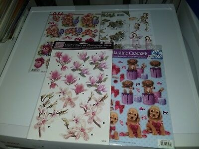 5X 3D Sheets No Scissors Need For Making Cards (A4346)