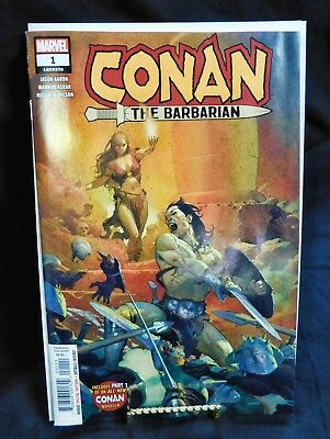 CONAN THE BARBARIAN #1 (2019). Main Ribic Cover. Marvel. *WE COMBINE SHIPPING*