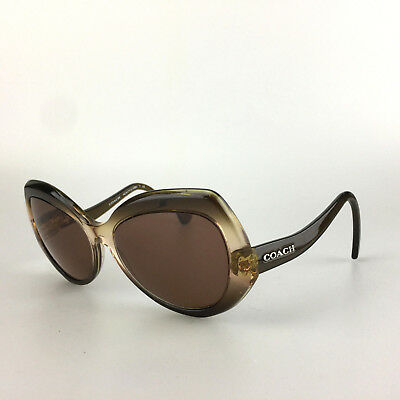 33805aa698 Coach Rx Sunglasses Frames Only 54002L Olive Brown Gradient HC 8177 L 1588