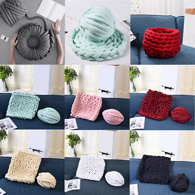 25 Meters 30mm Chunky Wool Yarn Bulky Arm Knitting Craft for Blanket Pet Bed