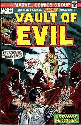 Vault of Evil #20 in Very Good + condition. Marvel comics [*5x]