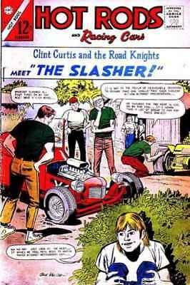 Hot Rods and Racing Cars #83 in Fine minus condition. Charlton comics [*4m]