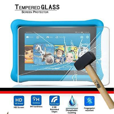 Tablet Tempered Glass Screen Protector Cover For Amazon Kindle Fire HD 10 (2017)