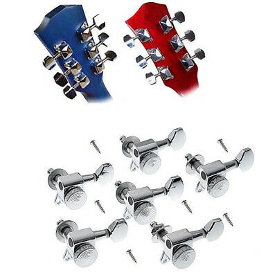 6pc Acoustic Guitar String Semiclosed Tuning Pegs Tuners Machine Heads Music Kit