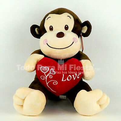 Happy Valentines Day Monkey Valentines Gift Mothers Day Dia de San Valentin