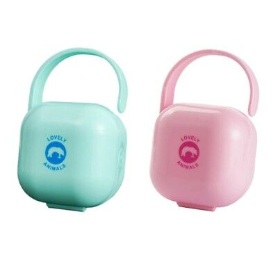 Baby Care Pacifier Storage Cases Portable New Infant Pacifier Nipples Holder