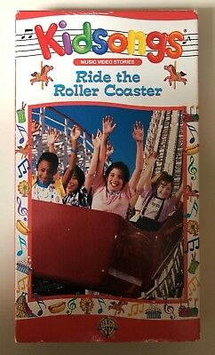 Kidsongs Ride The Roller Coaster Vhs 2003 Tested With Slip