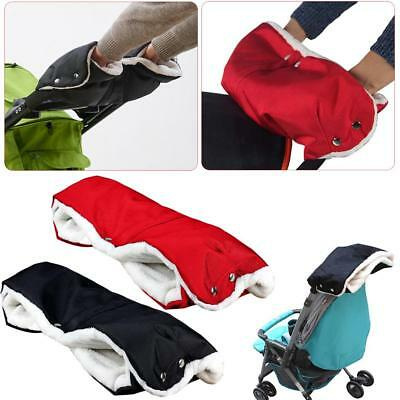 Baby Pram Waterproof Stroller Gloves Winter Warm Pushchair Hand Ptotect Muff
