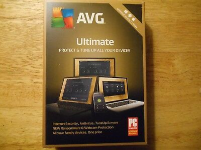 AVG Ultimate * Unlimited Devices 2 Years * Automatic Updates