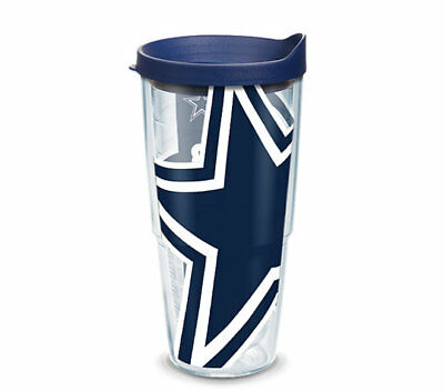 Tervis 1085169 OFFICIAL NFL Dallas Cowboys Tumbler 24oz Hot / Cold Made in USA