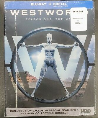 Westworld: The Complete First 1 Season One Bluray Disc 2017✔☆MINT✔☆NO DIGITAL