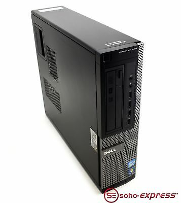 Dell Optiplex 990 Dt Desktop Tower Pc I7-2600 8Gb Ram 500Gb Hd Win 10 Pro Wifi