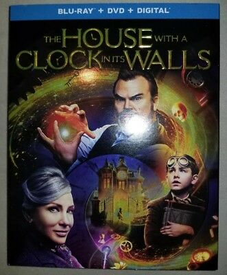 The House With A Clock In The Walls Blu-ray + DVD + Digital Brand New