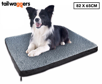Tail Waggers 82x65cm Heated Pet Bed