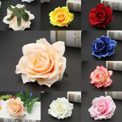 Bridal Rose Flower Hair Clip Hairpin Brooch Corsage Wedding Bridesmaid Party