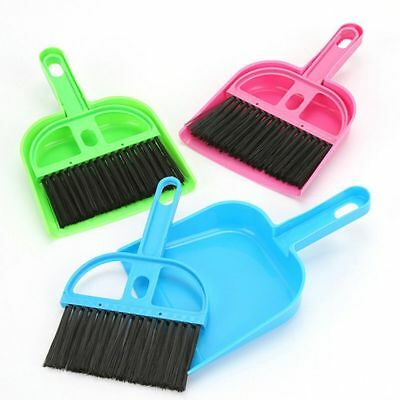 Cleaning Kit Dustpan Broom Sweep for Hamsters Small Pets Chinchillas Guinea Pigs
