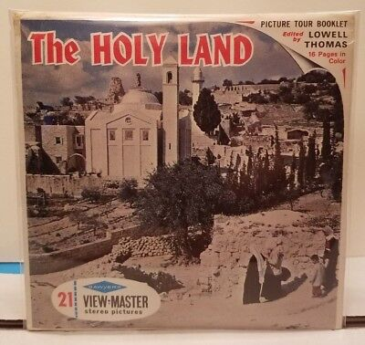 The Holy Land: Israel and Jordan  - View Master Complete 3 Reel Packet #B-226