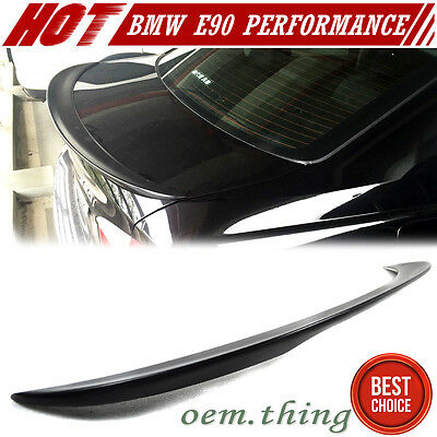 BMW E90 3-SERIES SALOON PERFORMANCE TRUNK BOOT SPOILER ABS M3 320i 323i 325i