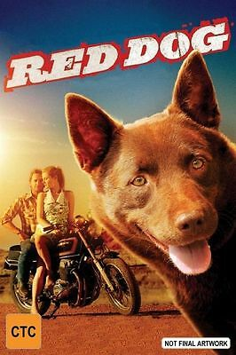 "Red Dog, DVD, 2011, Great Family Film!!! ""Based on a true story"", Comedy/Drama."