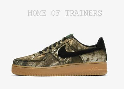 Details about Nike Air Force 1 07 LV8 3 Realtree Camo AO2441 001 Real Tree Green Size 7 men's
