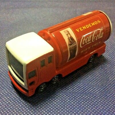 Tomica Tomy Coca Cola Art Collection Delivery Can Truck Model Rare Graphics F/S!