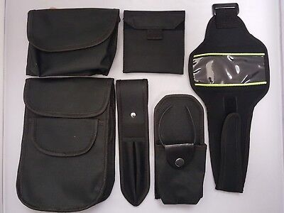 TUFFpouch Cuff Phone Glove Duty Patrol Belt Police Security Black Pouches