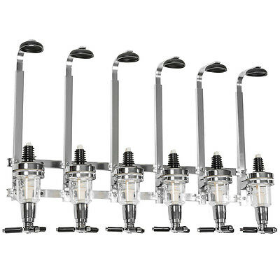 Bar butler dispensador portabidones para 6 botellas montaje en pared 4cl