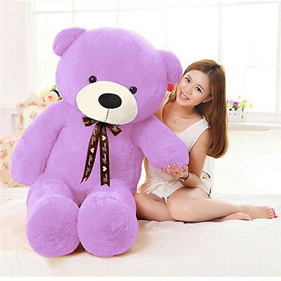 80-140cm Giant Large Teddy Bear Plush Stuffed Soft Toy Doll Valentine's Gift NEW
