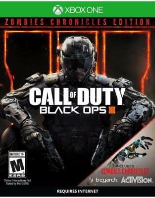 Call Of Duty: Black Ops 3 Zombie Chronicles Ed (Xbox One)