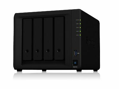 Synology Powerful 4-bay NAS for Home and Office Users (ds418)