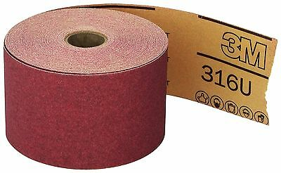 3m Company 3M-1687 Red Abrasive Stikit Sheet Roll, 2 3/4 In X 25 Yd, P120