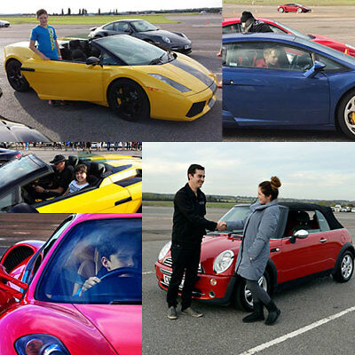 Kid's MINI Driving Lesson then Driving a Supercar. Amazing Experience- Save ££s