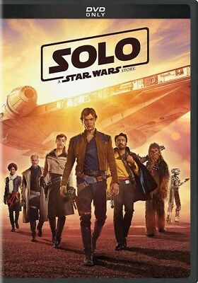 Solo: A Star Wars Story (DVD,2018)