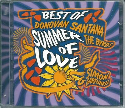 Best of Summer of Love (2003) 2 CD NUOVO Scott McKenzie. Joan Beaz. Procol Harum