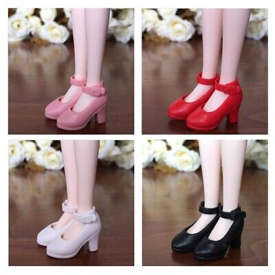 4Pairs 1/6 High Heel Shoes For Blythe Dolls For Licca Momoko Doll Shoes