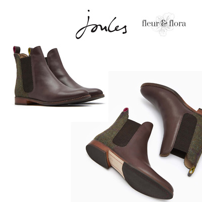 Joules Westbourne Chelsea Boots Were £129 now £99 UK 4 /& 6 Left Green Tweed