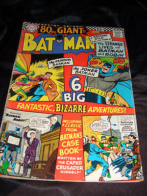 Batman 80 Page Giant - Silver Age DC Comics. No. 182, 1966