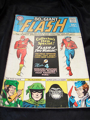 The Flash 80 Page Giant - Silver Age DC Comics. No. 9, 1965