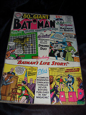 Batman 80 Page Giant - Silver Age DC Comics. No. 5, 1964 – Anniversary Issue
