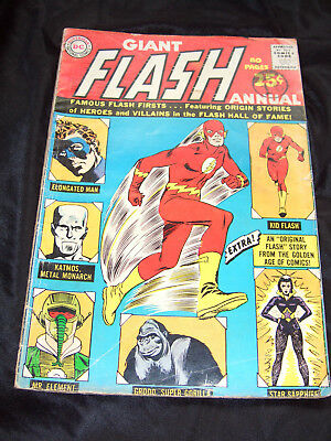 The Flash 80 Page Giant - Silver Age DC Comics. No. 1, 1963