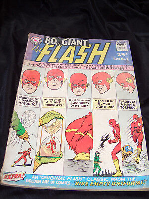 The Flash 80 Page Giant - Silver Age DC Comics. No. 4, 1964