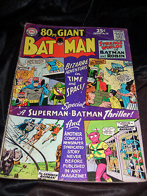 Batman 80 Page Giant - Silver Age DC Comics. No. 12, 1965