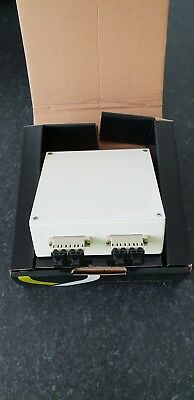 Excel 2 Port LC Quad 8 Core Multimode Loaded Patch Fibre Box 202-107 Splicing
