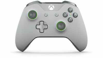 Official Xbox One & One S Grey/Green Wireless Controller OEM NEW, FREE FAST SHIP