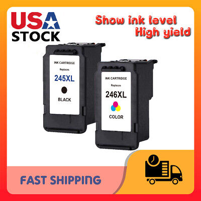 Lot PG-245XL CL 246XL Ink Cartridge for Canon PIXMA MG2920 MG2924 MG2550 MX492