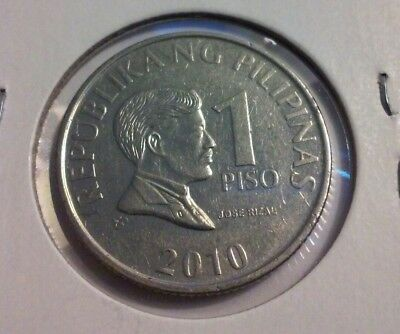 2010 Philippines 1 Piso Coin -   (#IN3721)
