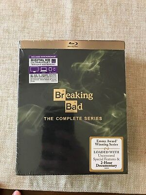 Breaking Bad: The Complete Series (Blu-ray, 2014, 16-Disc Set, SEALED)
